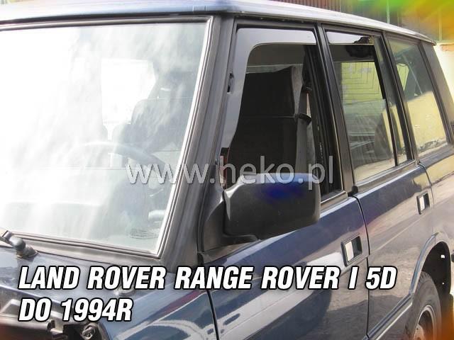 Ofuky oken Heko Land Rover Range Rover I 5D do 1994 přední + zadní