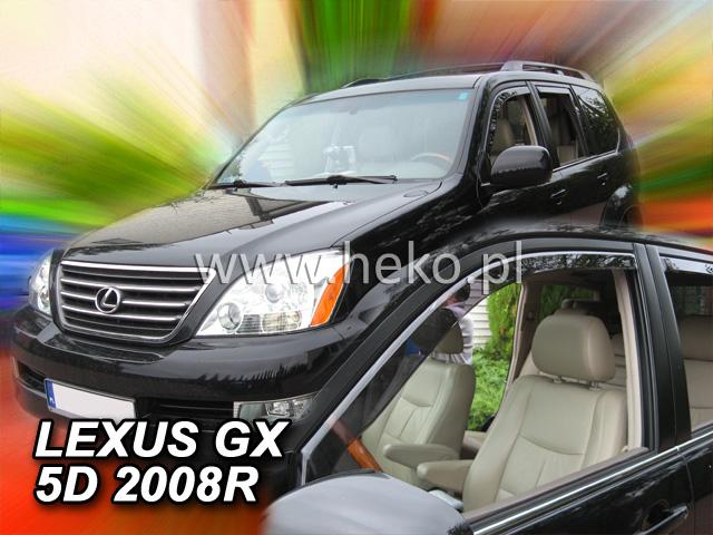 Ofuky oken Heko Lexus GX 5D USA 2004-2009 přední