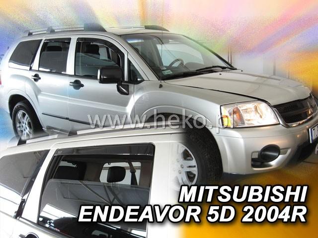 Ofuky oken Heko Mitsubishi Endeavor 5D 2004- přední + zadní