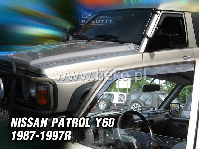 Ofuky oken Nissan Y60 1987-1997 p
