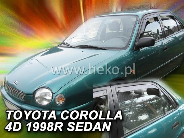 Ofuky oken Toyota Corolla E11 4D 1997-2001 p