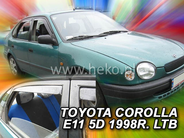 Ofuky oken Toyota Corolla E11 5D 1997-2001 p