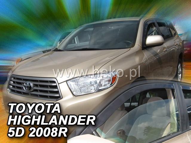 Ofuky oken Heko Toyota Highlander USA 2007- přední
