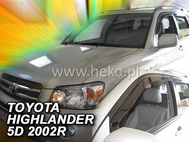 Ofuky oken Heko Toyota Highlander USA 2001-2007 přední