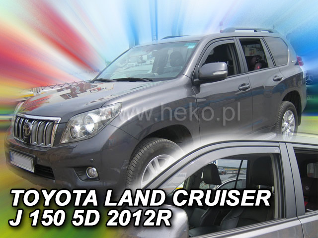 Ofuky oken Heko Toyota Land Cruiser J150 5D 2009- přední