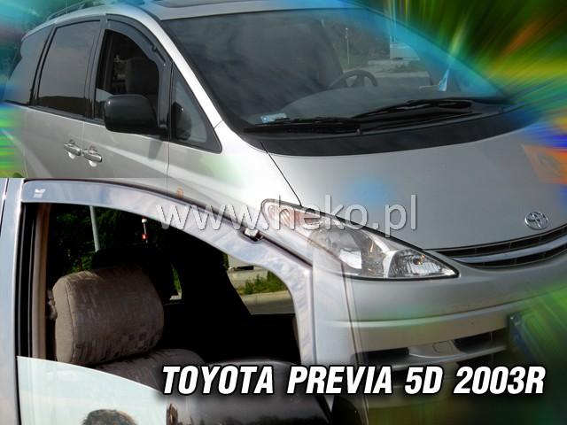 Ofuky oken Heko Toyota Prevenia 5D 2000-2005 přední