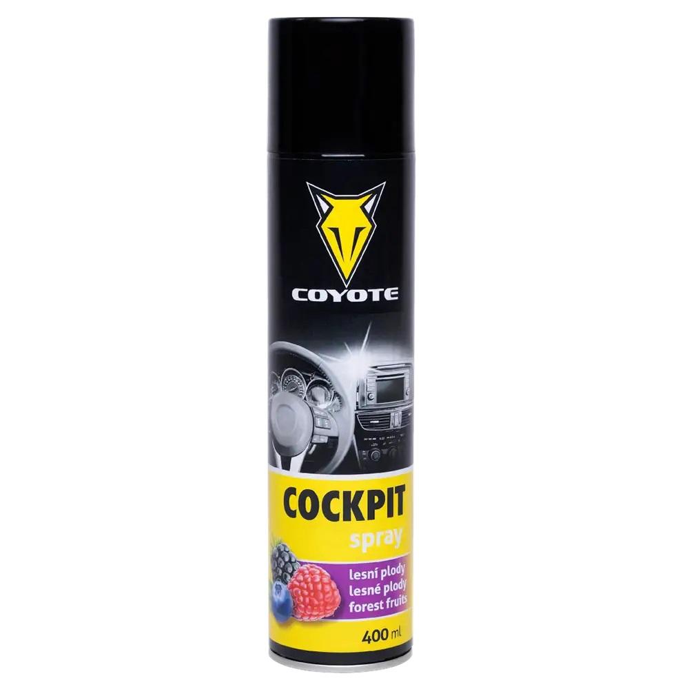 CLEANFOX Cockpit spray Divoké plody, 400 ml