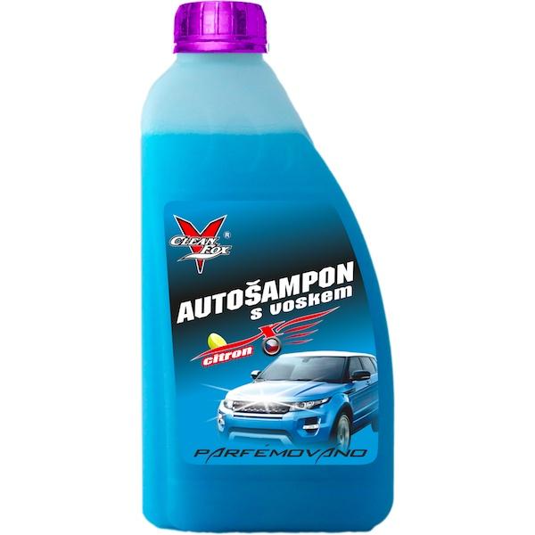 CLEANFOX Autošampon s voskem, 1000 ml