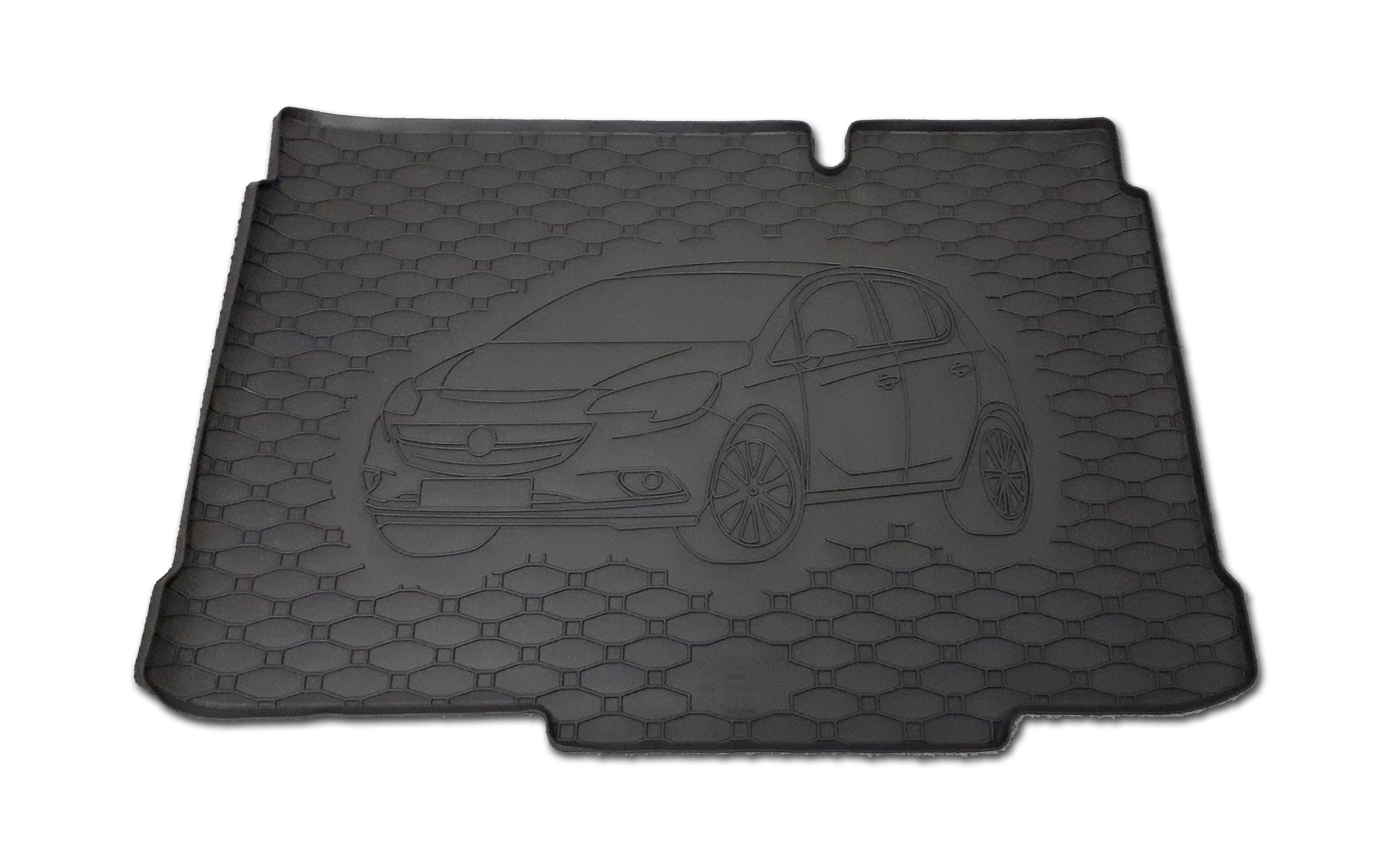 Vana do kufru gumová Opel Corsa E 2014- dolní