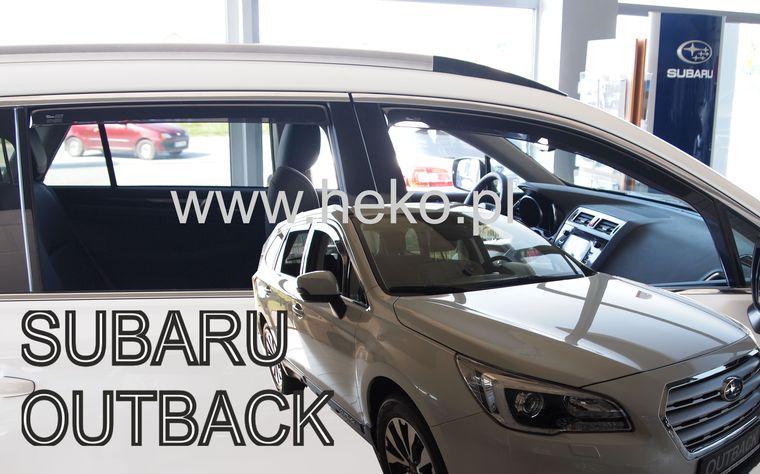 Ofuky oken Heko Land Rover Range Rover Sport II 5D 2013- přední + zadní