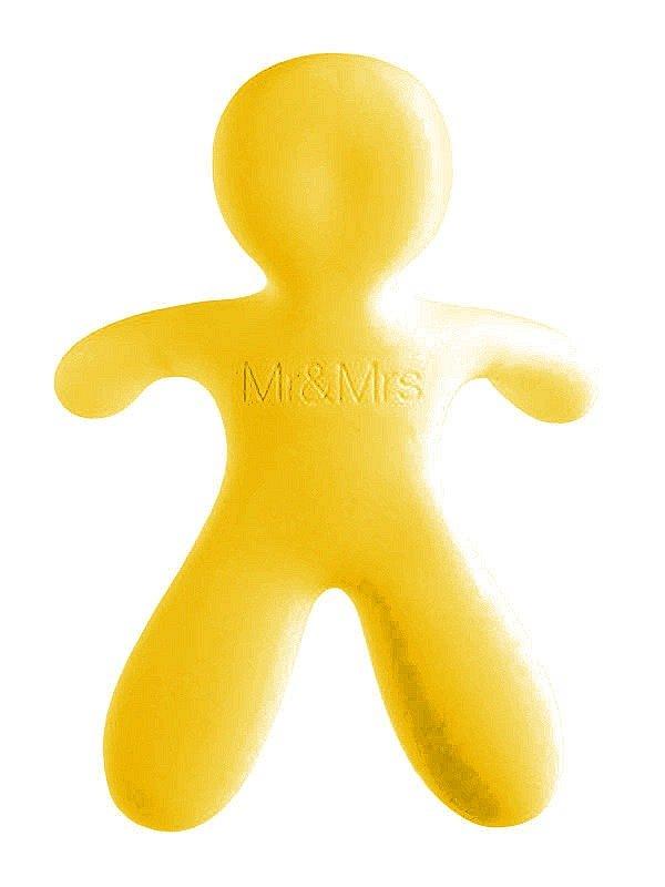Osvěžovač Mr&Mrs Fragrance CESARE Vanilla žlutý