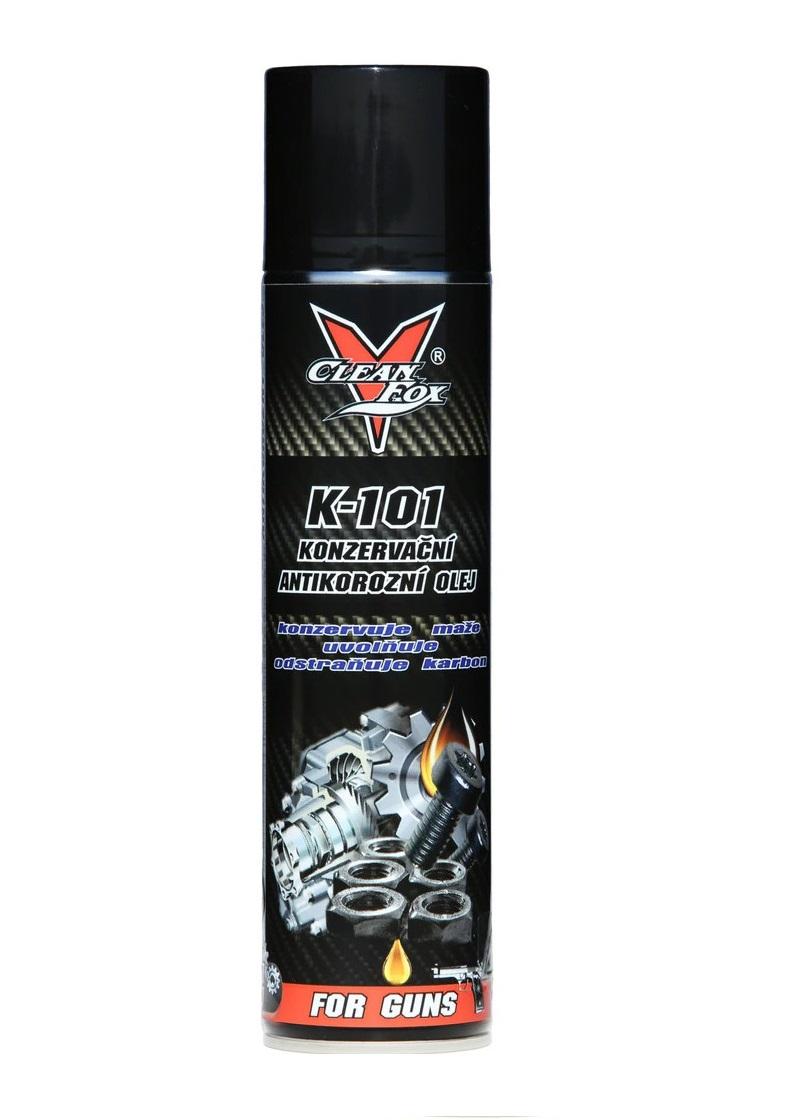 CLEANFOX K-101 Konzervační olej 400 ml