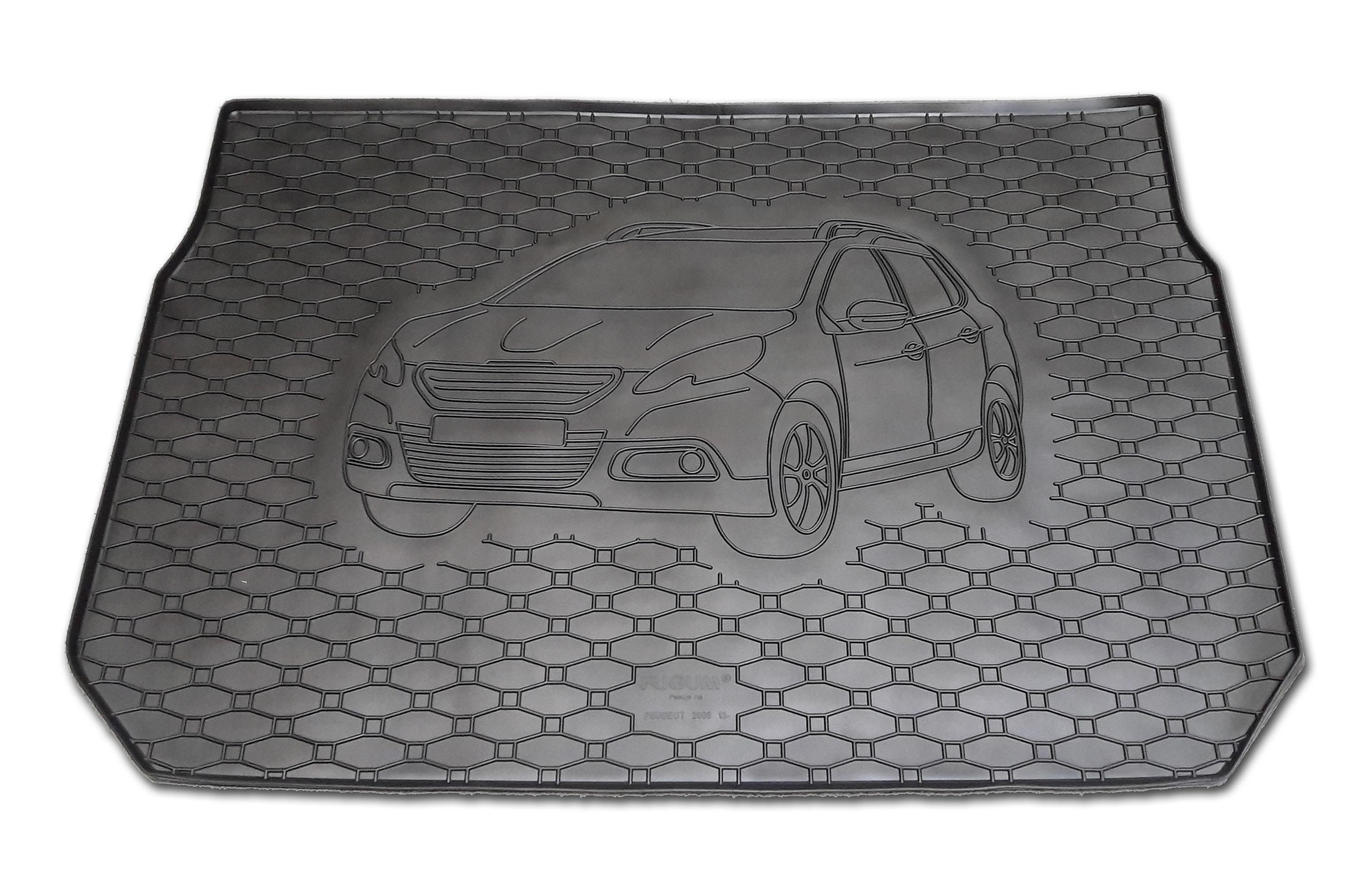 Vana do kufru gumová Peugeot 2008 2013-