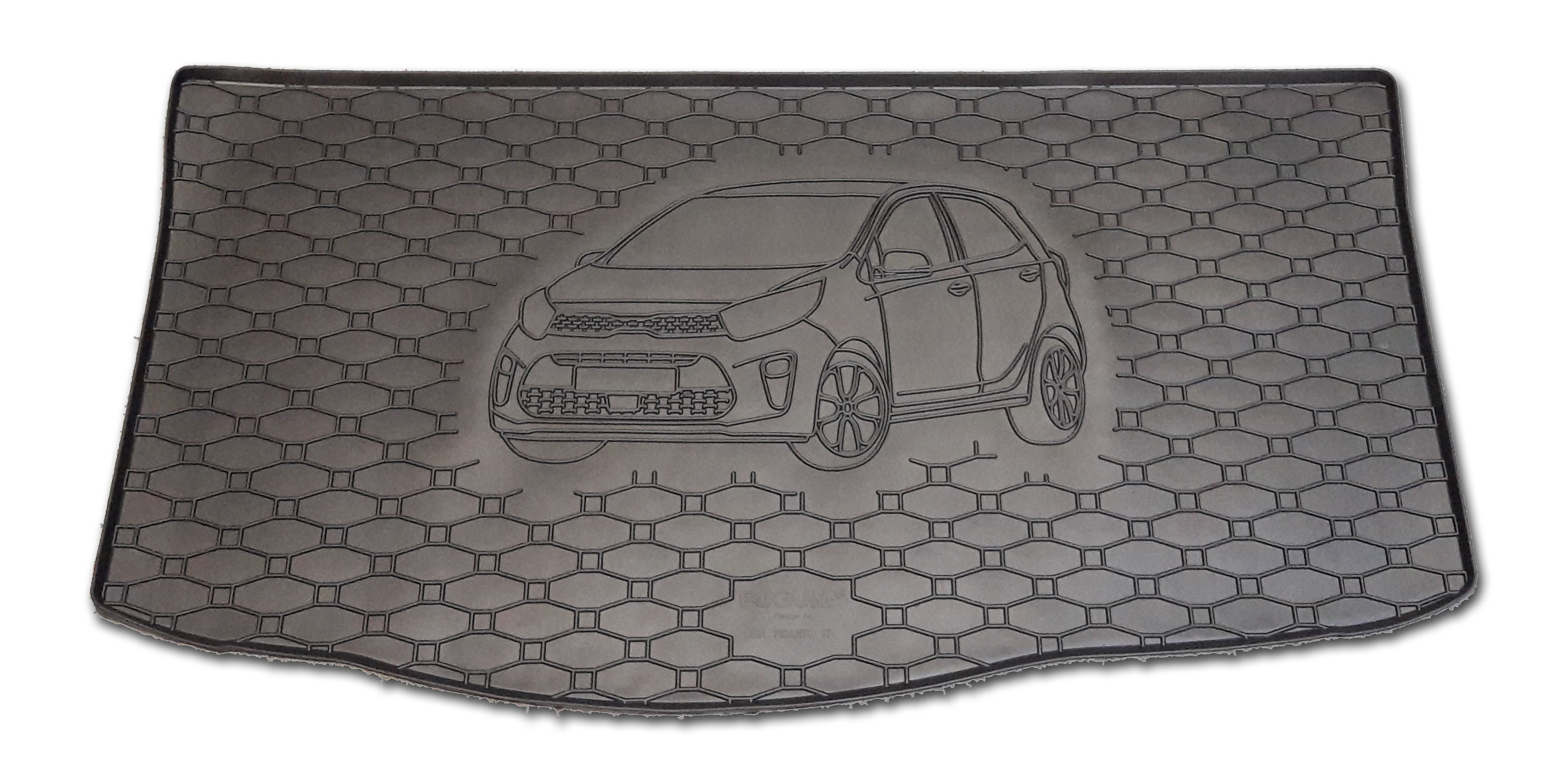 Vana do kufru gumová Kia Picanto 2017-