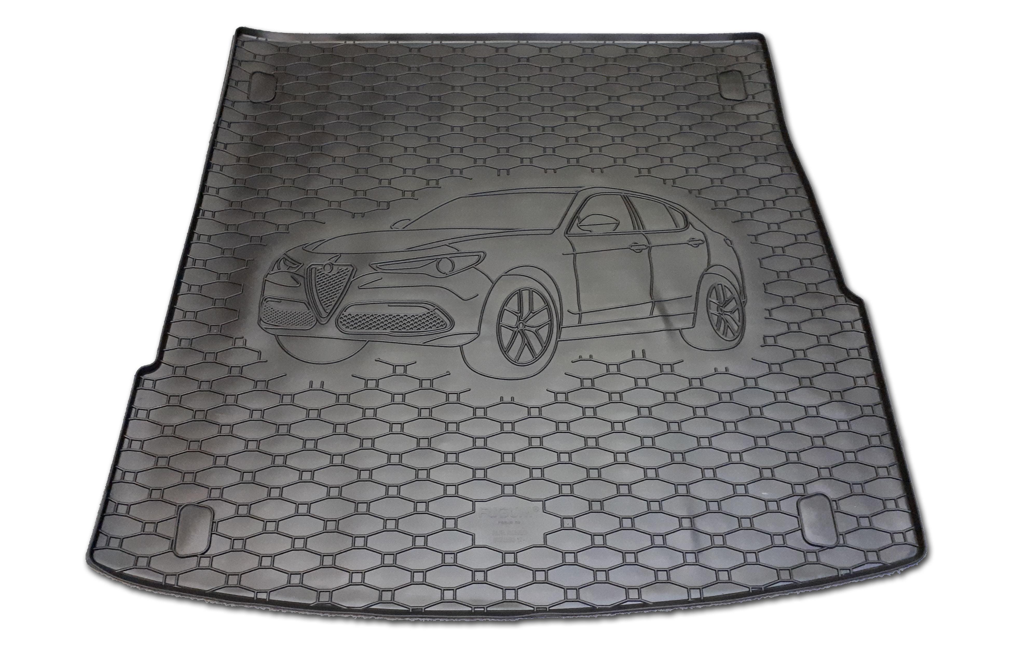 Vana do kufru gumová Alfa Romeo Stelvio 2017-