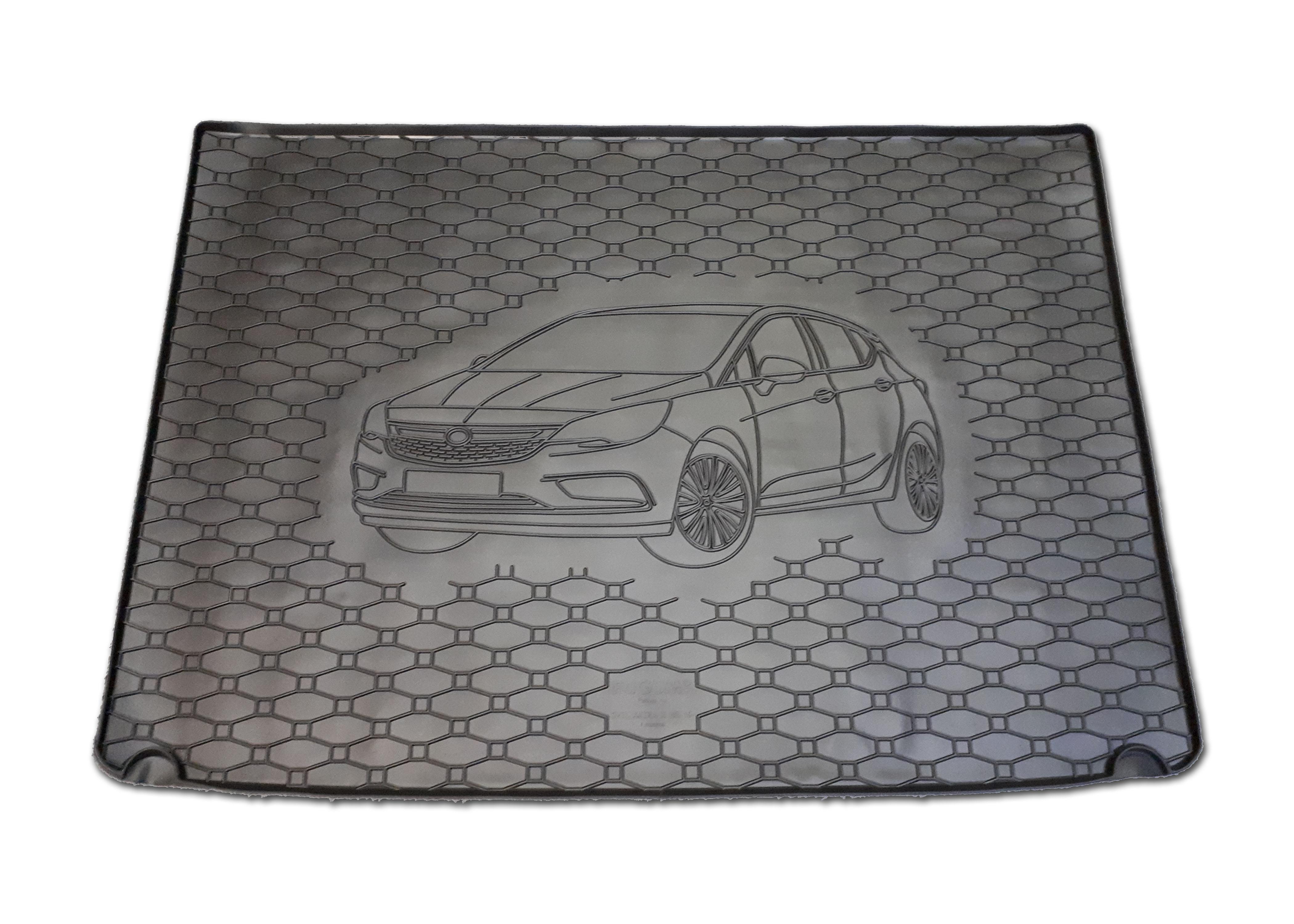 Vana do kufru gumová  Opel Astra K HB 2015- s rezervou