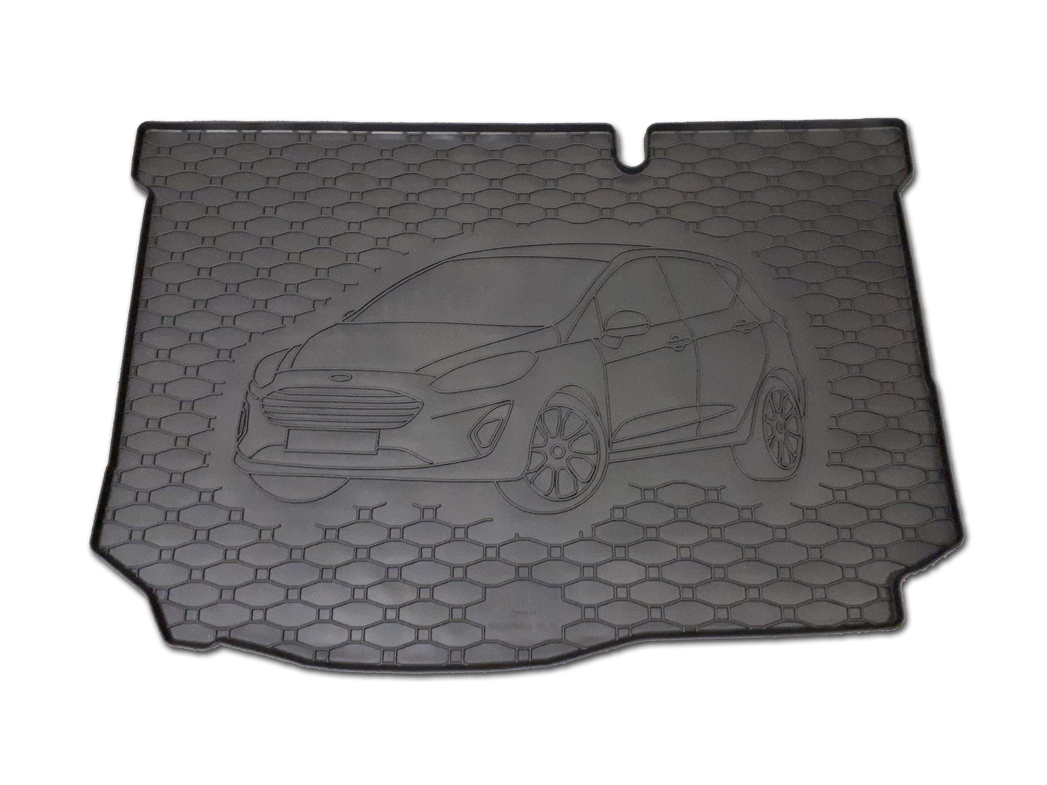 Vana do kufru gumová Ford Fiesta HB 2017-