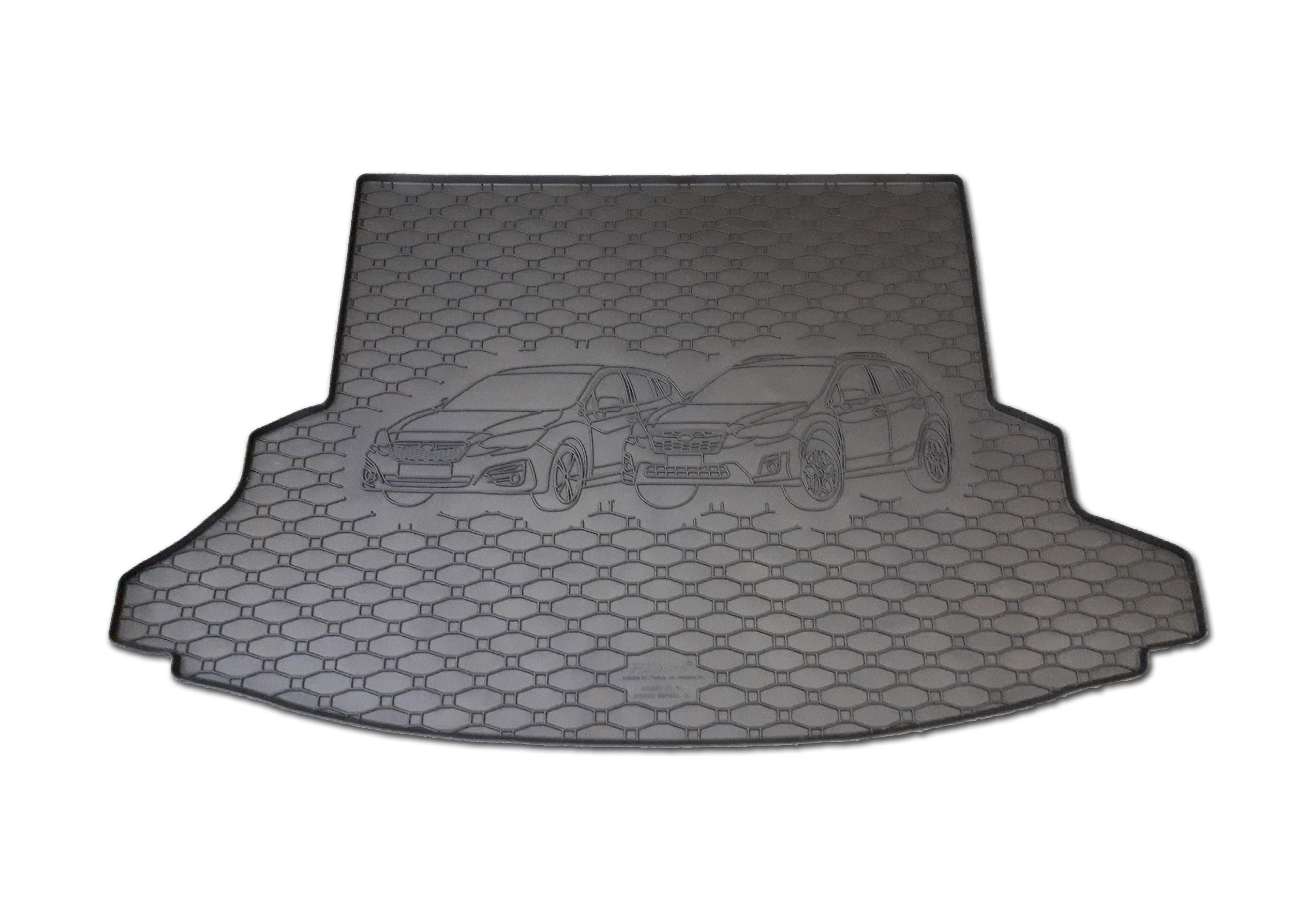 Vana do kufru gumová Subaru Impreza 2018-