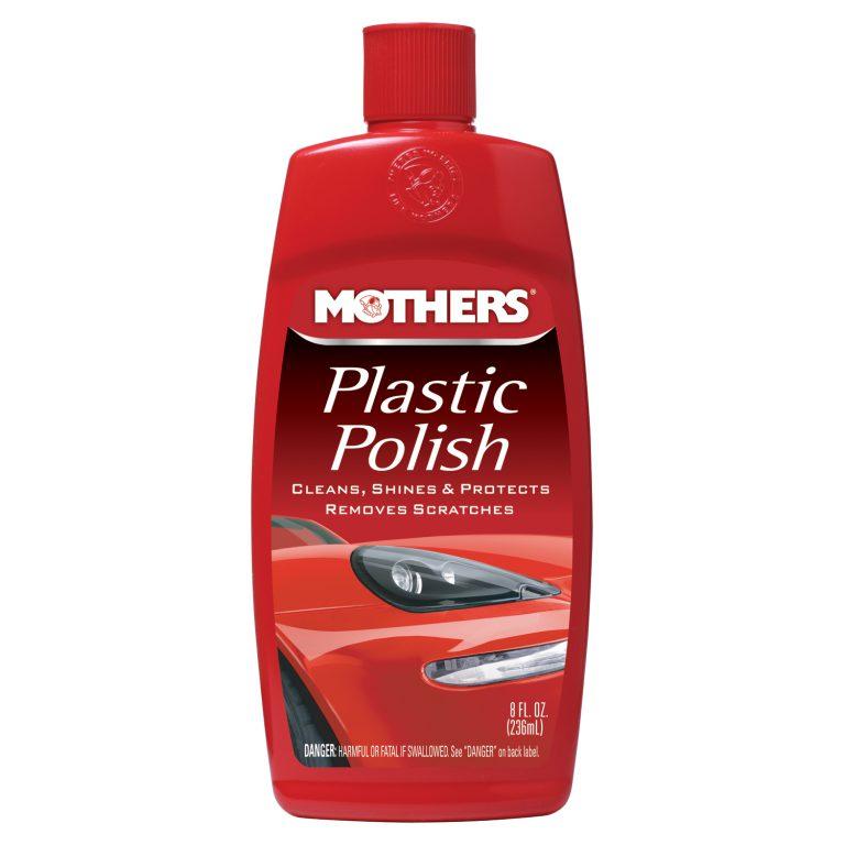 Mothers Plastic Polish - leštěnka a oživovač plastů, 236 ml