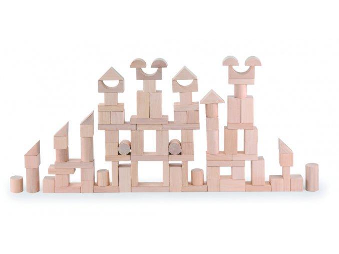 Dřevěné stavební kostky