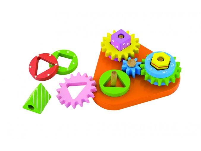 Hra s ozubenými kolečky