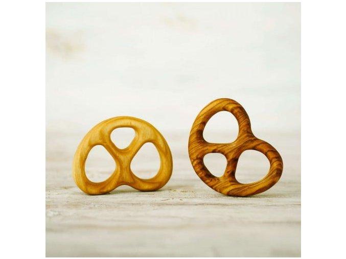 pretzel teething ring