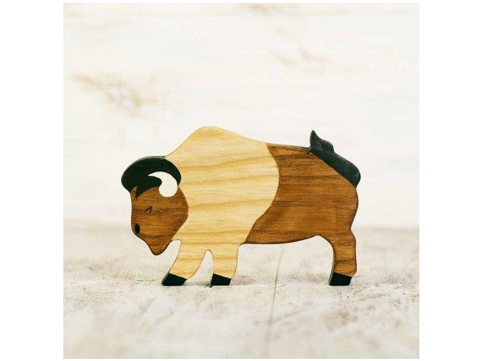 toy bison figurine