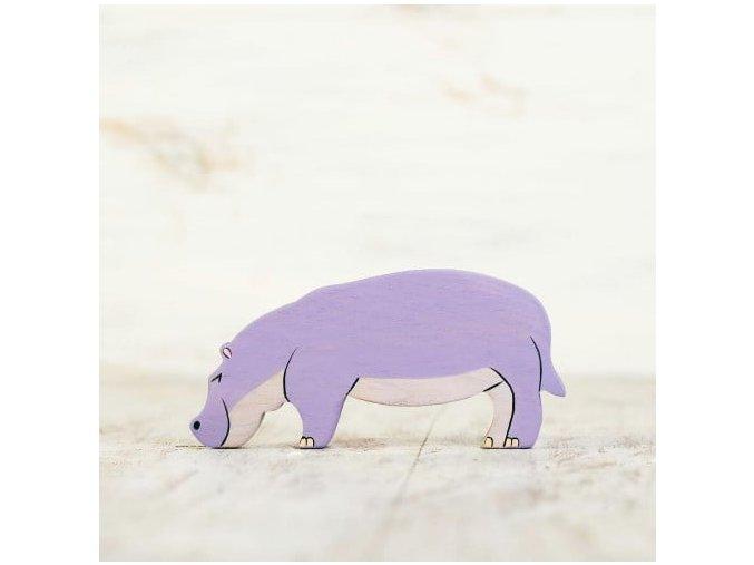toy hippo