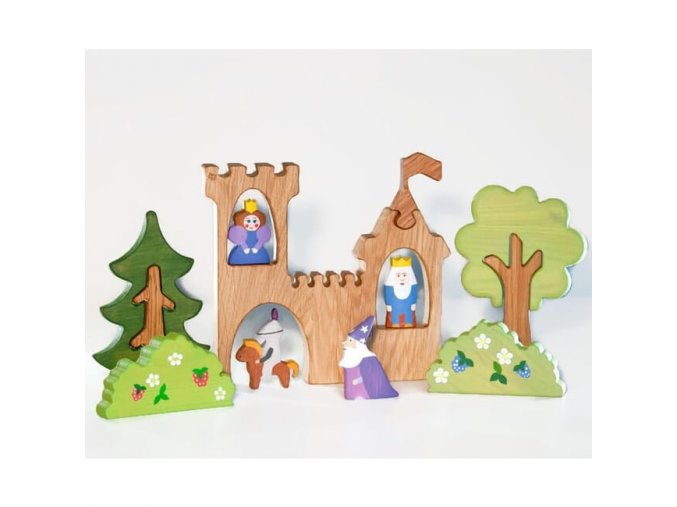 castle play set 5pcs
