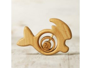 zodiac sign capricorn baby rattle teether