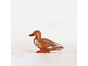 brown duck toy