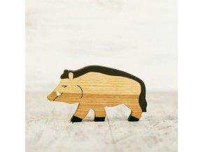toy wild boar pig