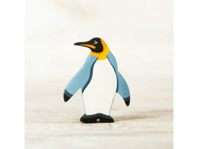 wooden penguin toy