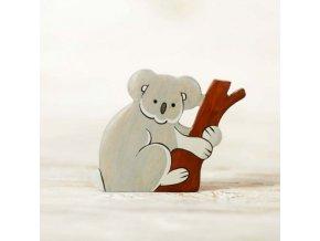 wooden koala toy