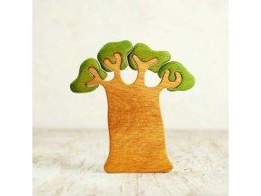 wooden baobab tree