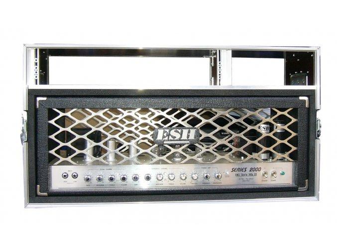 case na kytarový zesilovač + rack 2U