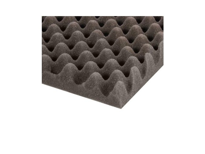 Adam Hall Eggbox Foam Grey 50 mm