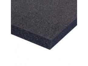 Adam Hall PE Plastazote Foam Black 10 mm