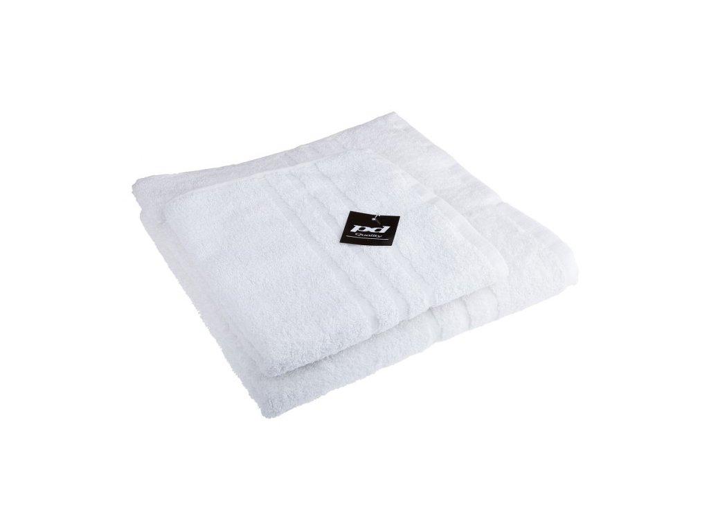 Ručník froté 50x100 cm - CLASSIC - bílý