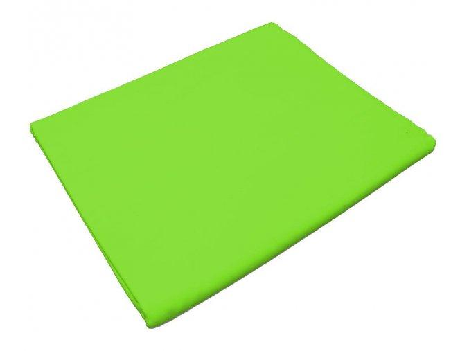 Bavlněné prostěradlo zelené