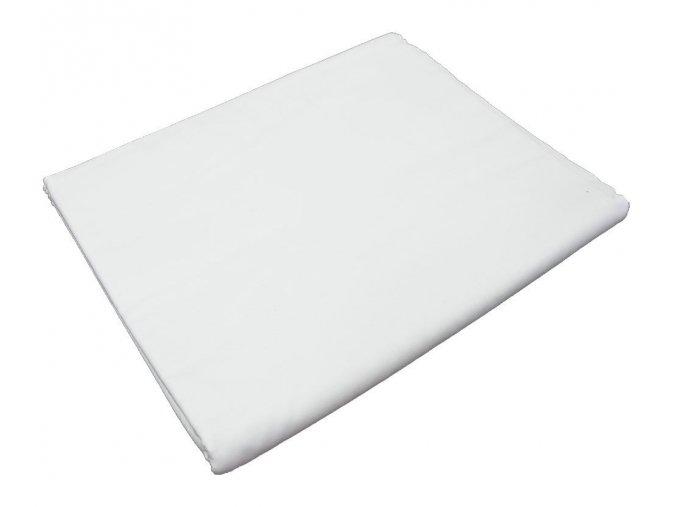 Bavlněné prostěradlo bílé
