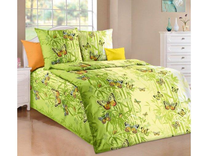 bavlnene povleceni motyl zeleny 433089 0