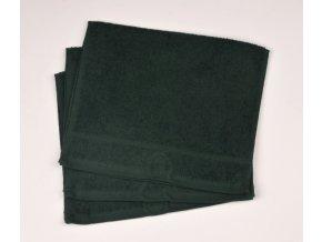 Ručník froté 30 x 50 cm - tmavě zelený