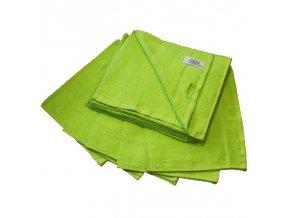Ručník froté 30 x 50 cm - zelený