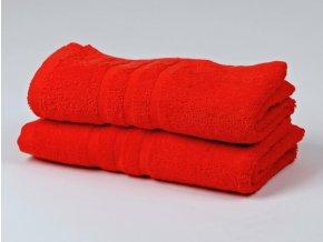 Ručník froté 50x100 cm - CLASSIC - červený