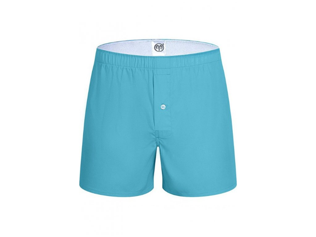 ARIES NORD POP COLOR BLUE TRUNKS - MODRÉ BAVLNĚNÉ TRENÝRKY