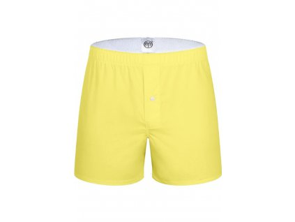 ARIES NORD POP COLOR YELLOW TRUNKS - ŽLUTÉ BAVLNĚNÉ TRENÝRKY