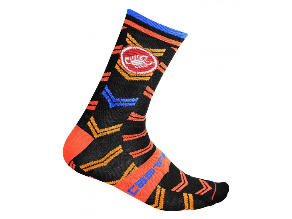 Zimné ponožky Castelli Transition 18 (Farba Castelli-Transition-18-midnight navy, Veľkosť XXL)