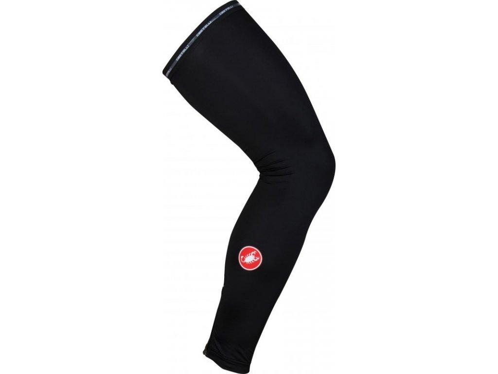 Cyklo návleky na nohy Castelli UPF 50+ Light (Farba Castelli-UPF-50+Light-nohy-Čierna, Veľkosť XL)
