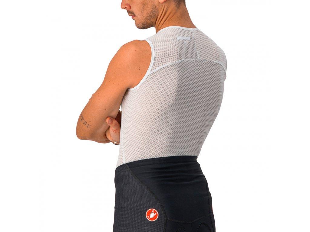 Funkčné prádlo Castelli Pro Issue bez rukávov (Farba Castelli-Pro-Issue-bez-rukávov-Biela, Veľkosť XXL)